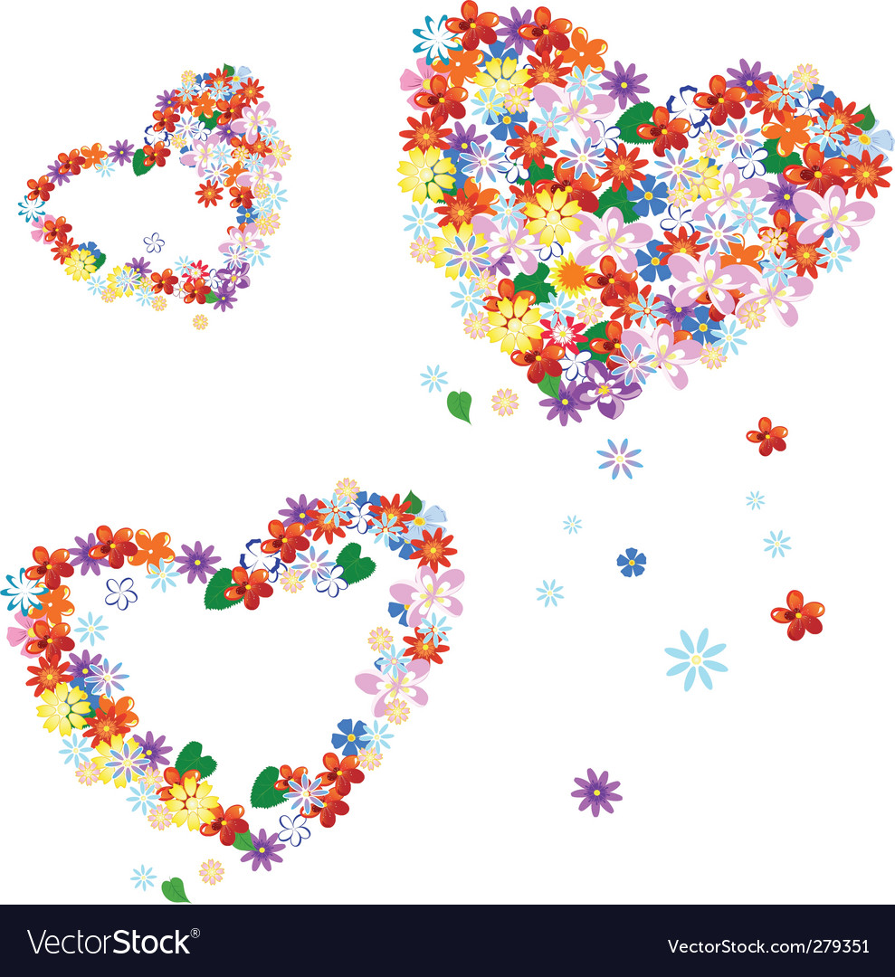 Valentine's flowers vector | Price: 1 Credit (USD $1)