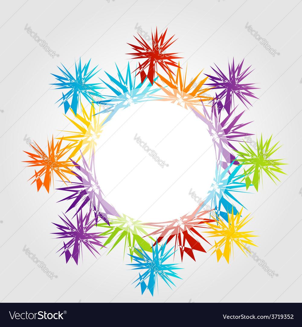 Fractal design element or banner for web vector   Price: 1 Credit (USD $1)