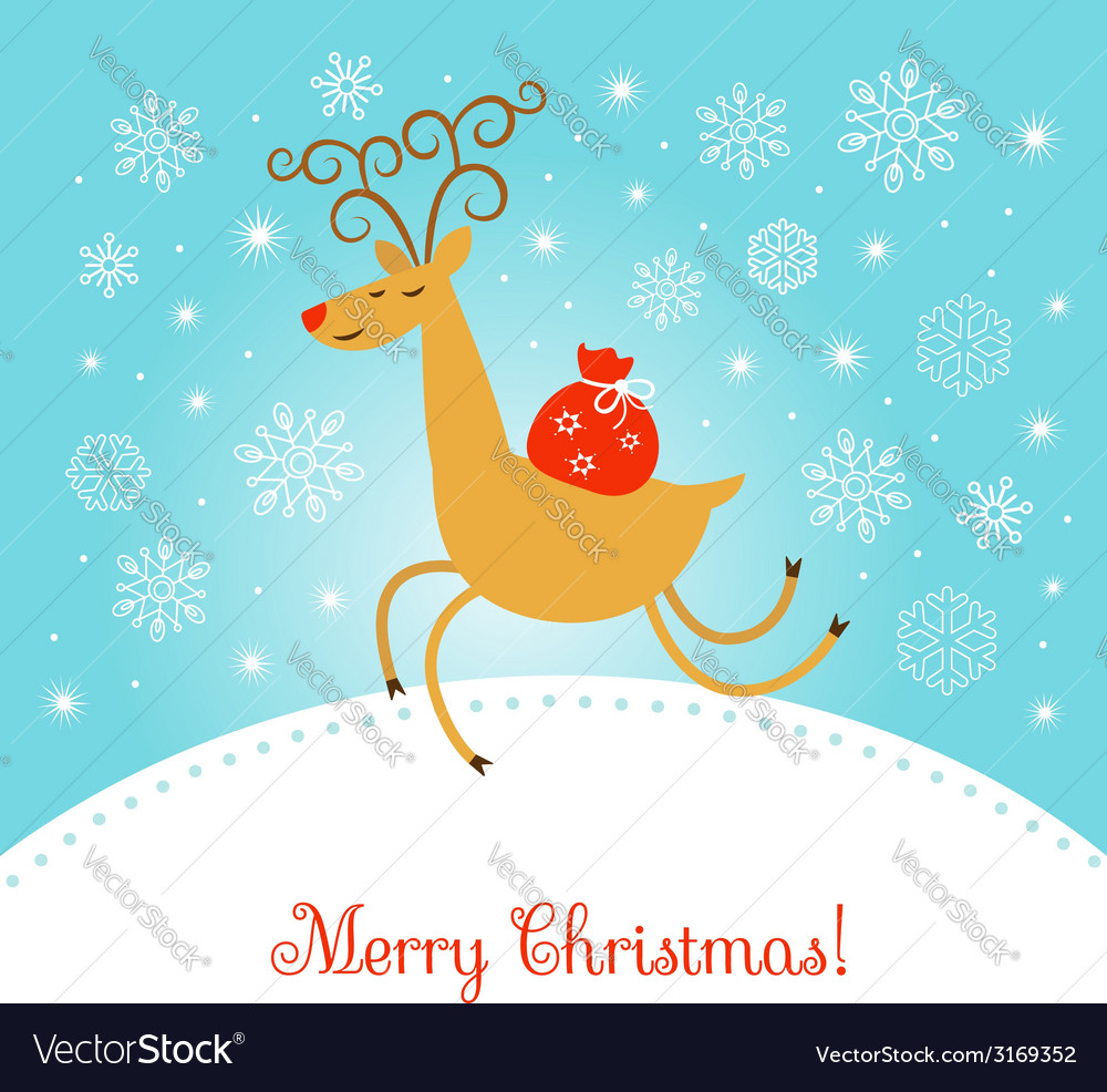 Merry christmas vector | Price:  Credit (USD $)