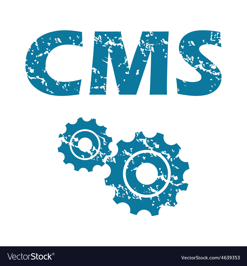 Cms grunge icon vector | Price: 1 Credit (USD $1)