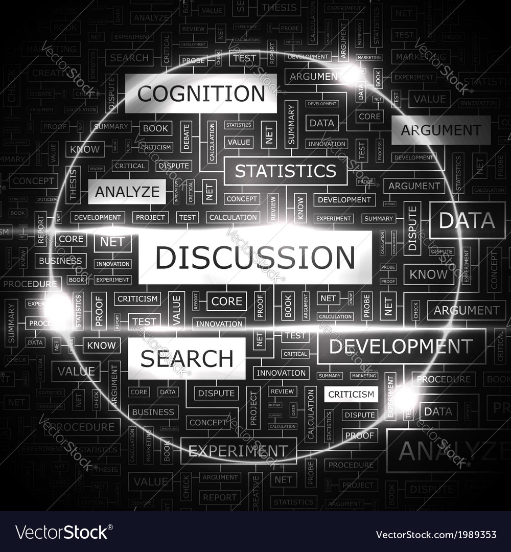 Discussion vector | Price: 1 Credit (USD $1)