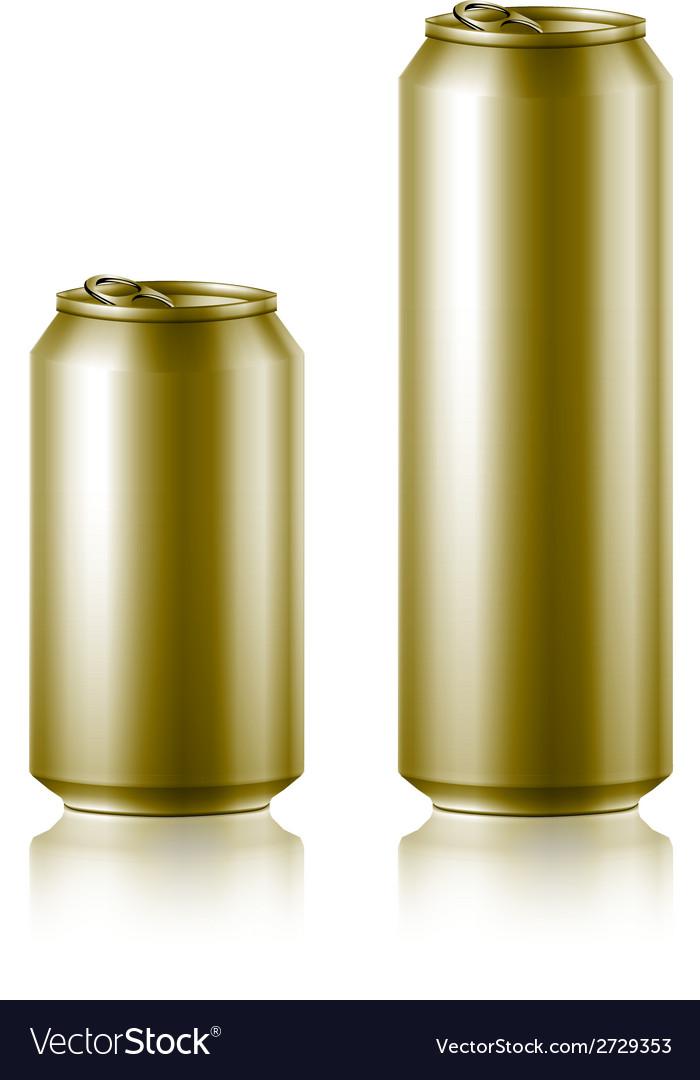 Drink foods cola beer aluminum vector | Price: 1 Credit (USD $1)