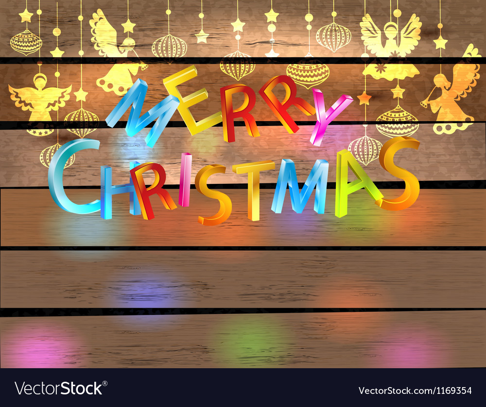 Christmas wood color background vector   Price: 1 Credit (USD $1)