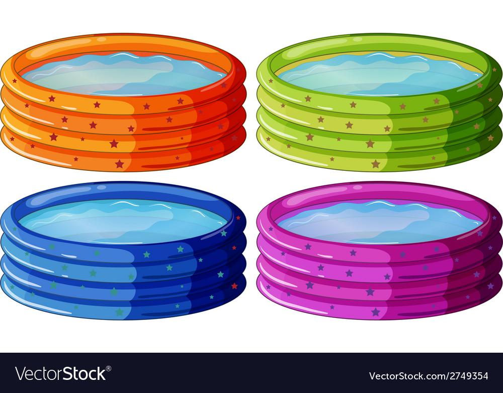 Kiddie pools vector   Price: 1 Credit (USD $1)