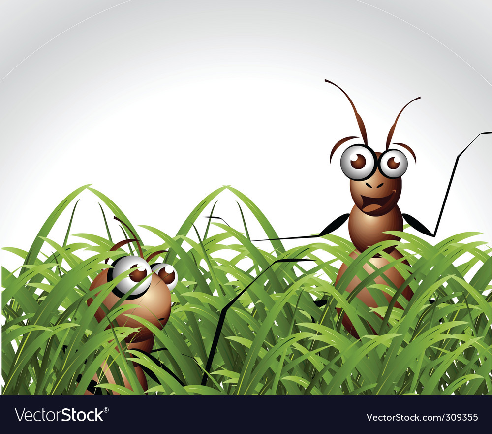 Ant character vector | Price: 3 Credit (USD $3)