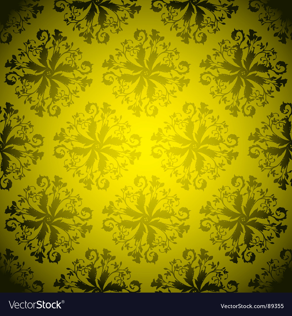 Golden wallpaper repeat vector | Price: 1 Credit (USD $1)