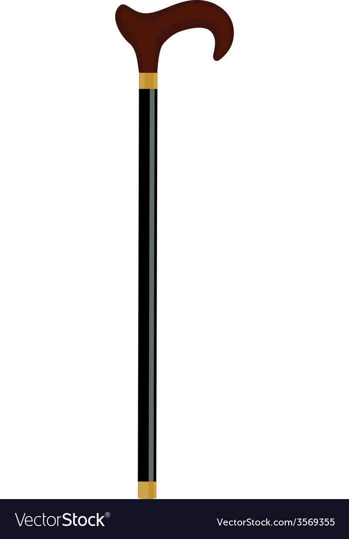 Walking stick vector | Price: 1 Credit (USD $1)
