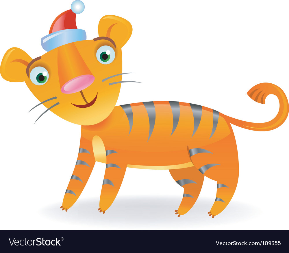 Year of the tiger vector | Price: 1 Credit (USD $1)