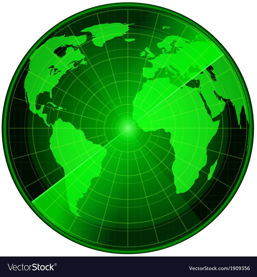 Abstract radar vector | Price: 1 Credit (USD $1)