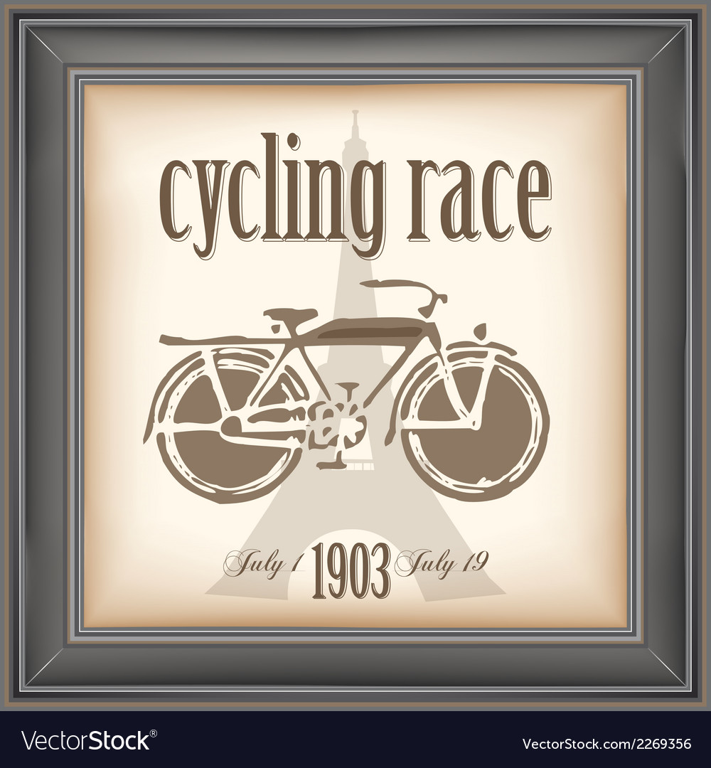Cycling race vector | Price: 1 Credit (USD $1)