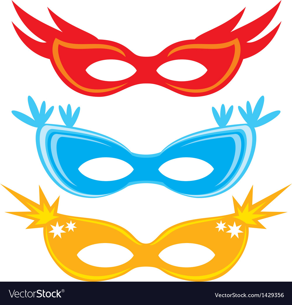Masks for masquerade vector | Price: 1 Credit (USD $1)