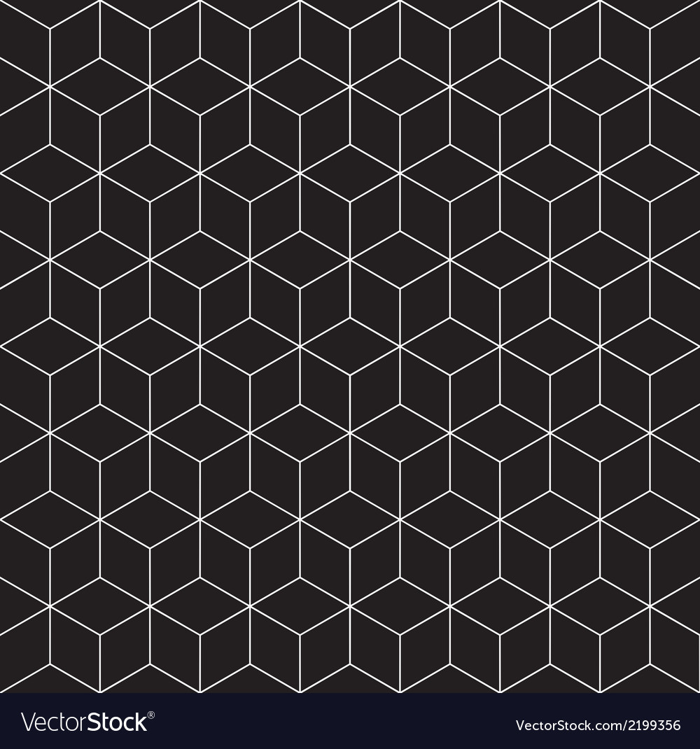 Pattern cube 3 vector | Price: 1 Credit (USD $1)