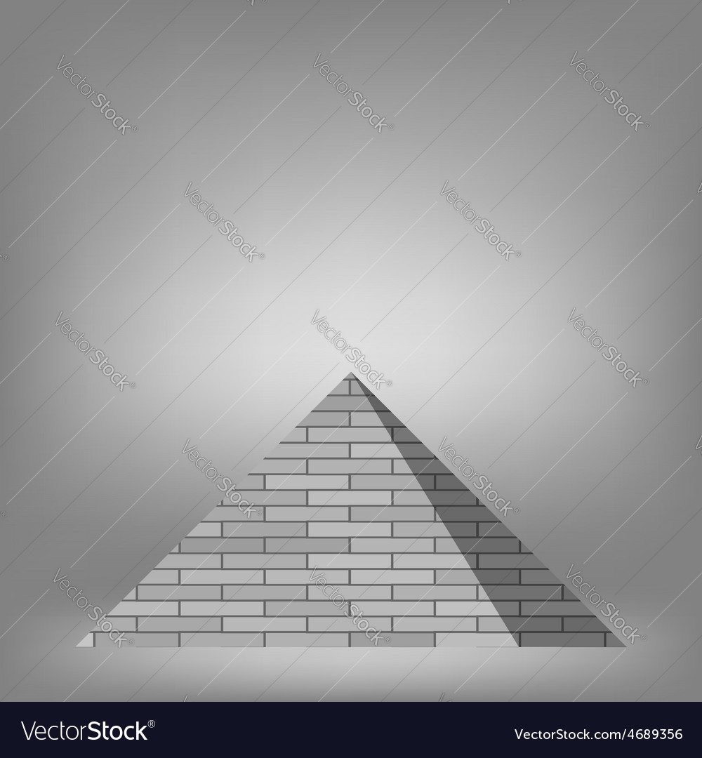 Pyramid vector | Price: 1 Credit (USD $1)