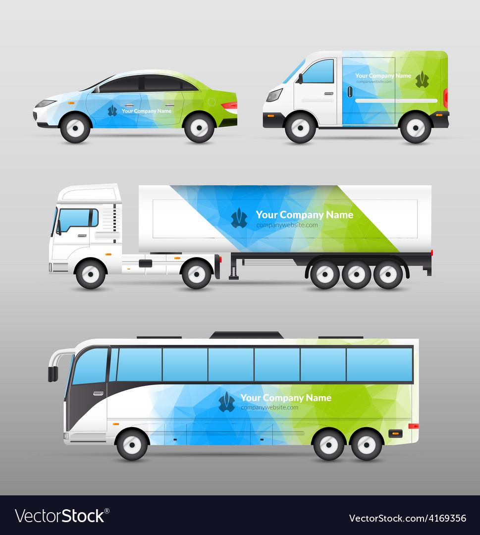 Transport advertisement design vector   Price: 1 Credit (USD $1)