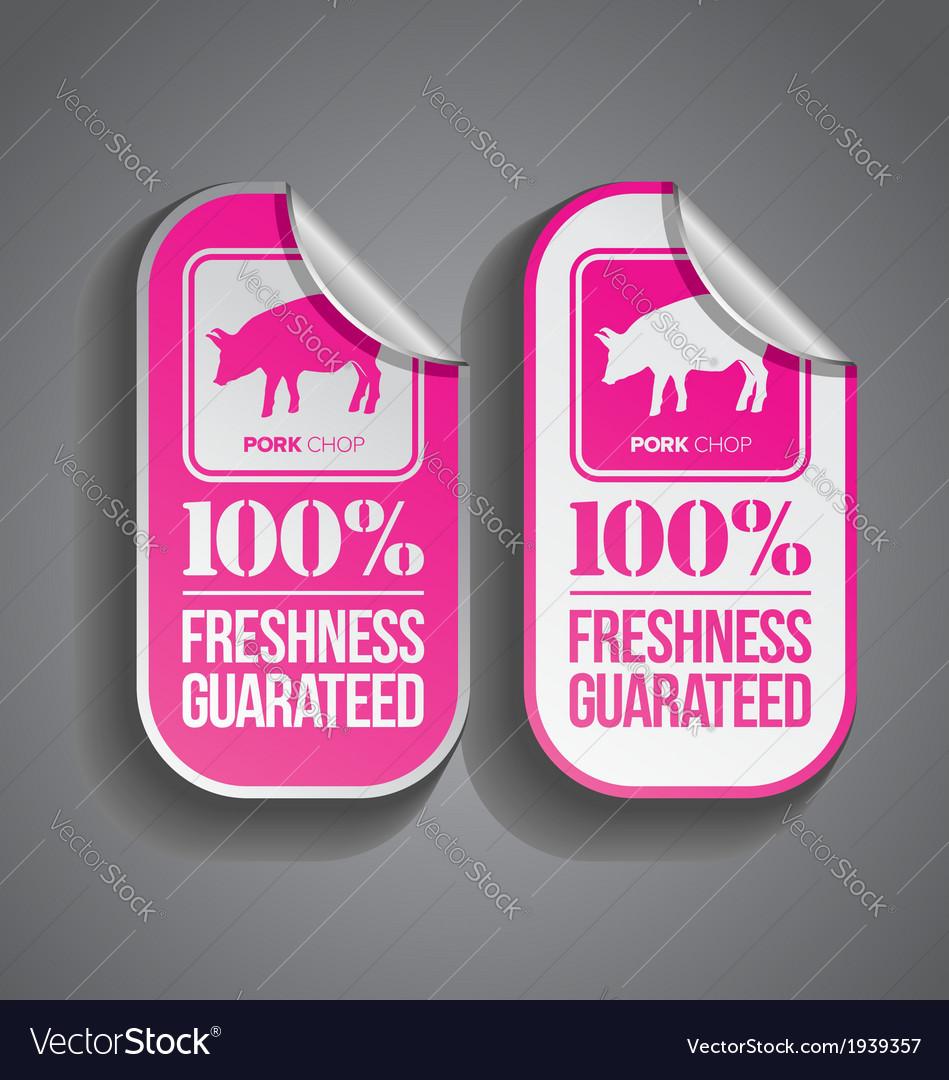 Food sticker pork vector | Price: 1 Credit (USD $1)