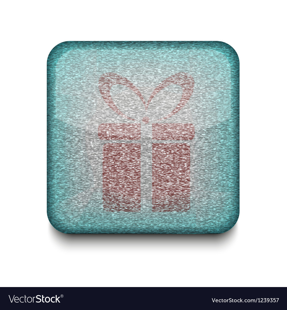Present gift icon vector | Price: 1 Credit (USD $1)