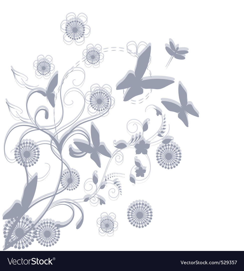 Season floral vector | Price: 1 Credit (USD $1)
