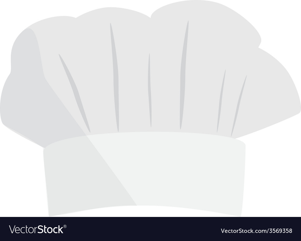 Chef hat vector | Price: 1 Credit (USD $1)