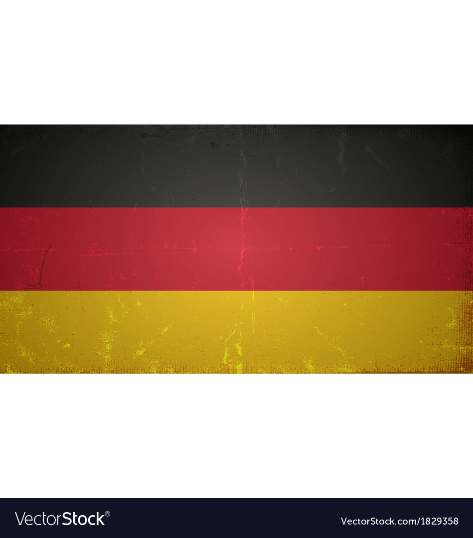 Grunge flags - germany vector | Price: 1 Credit (USD $1)