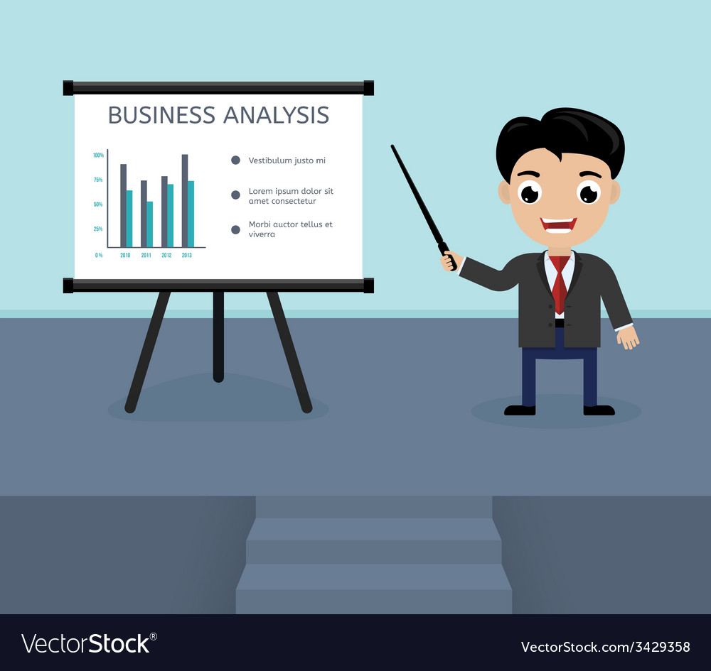 Presentation of business analysis vector | Price: 1 Credit (USD $1)