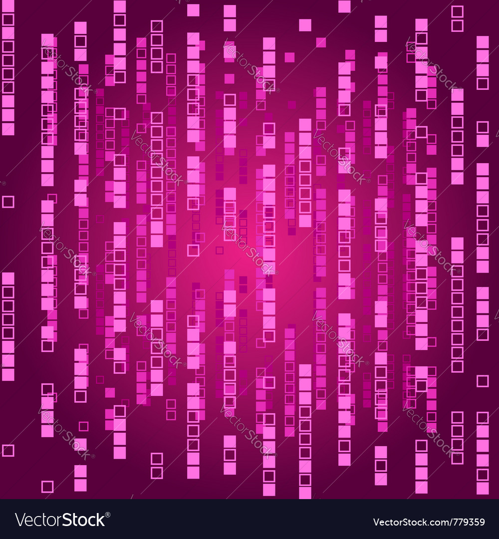 Abstract matrix background vector | Price: 1 Credit (USD $1)