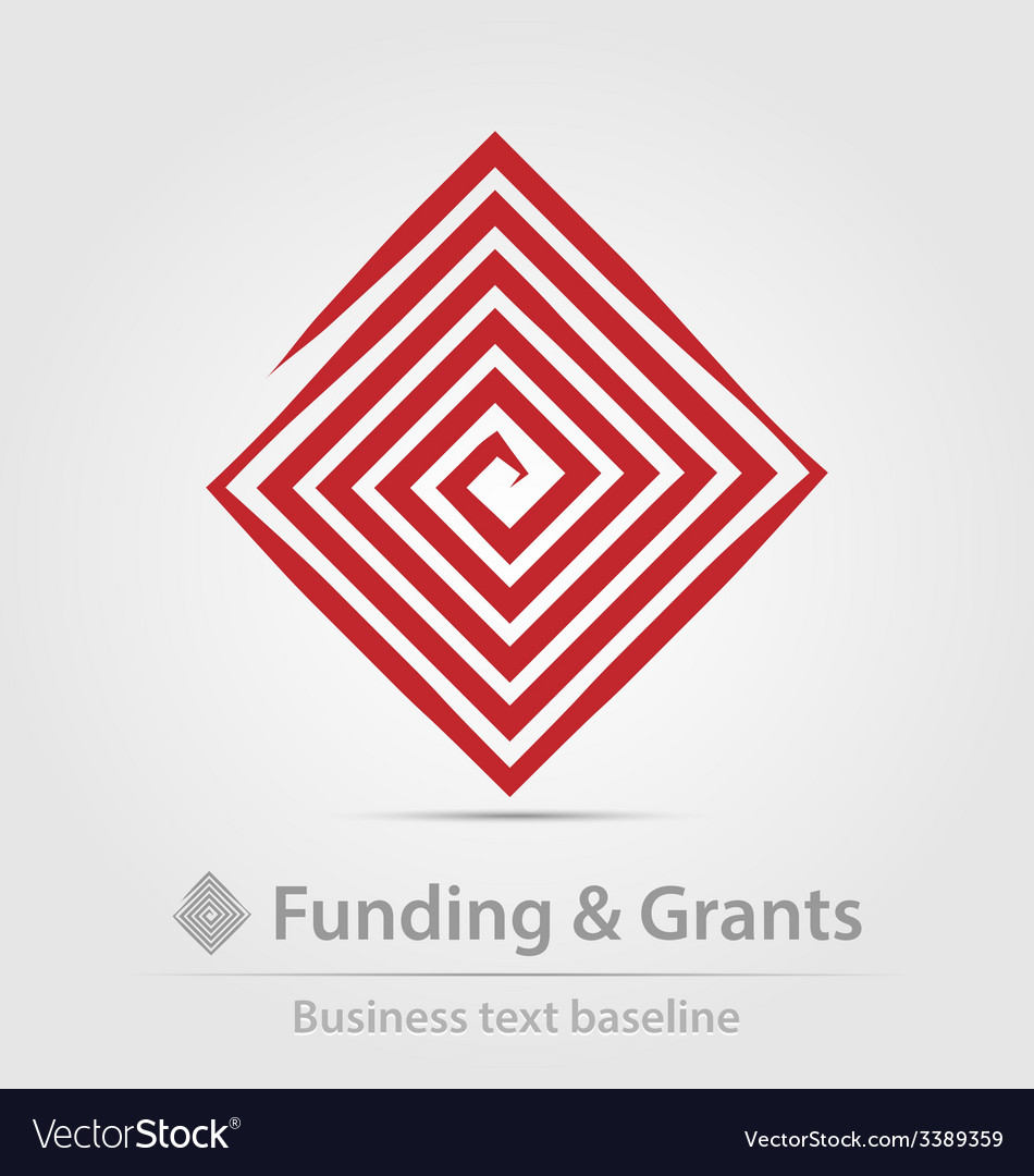 Funding and grants agency business icon vector | Price: 1 Credit (USD $1)