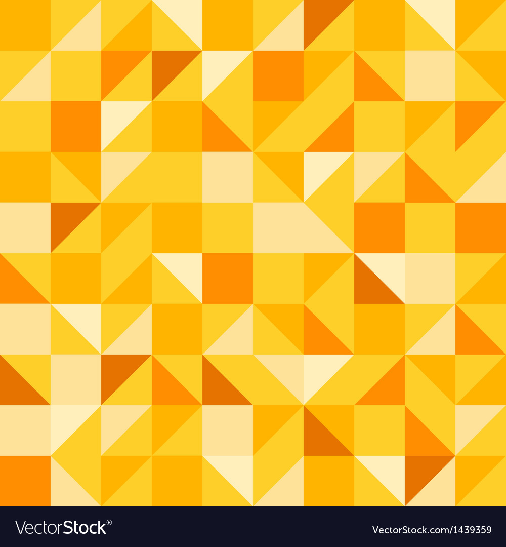 Yellow seamless pattern vector | Price: 1 Credit (USD $1)