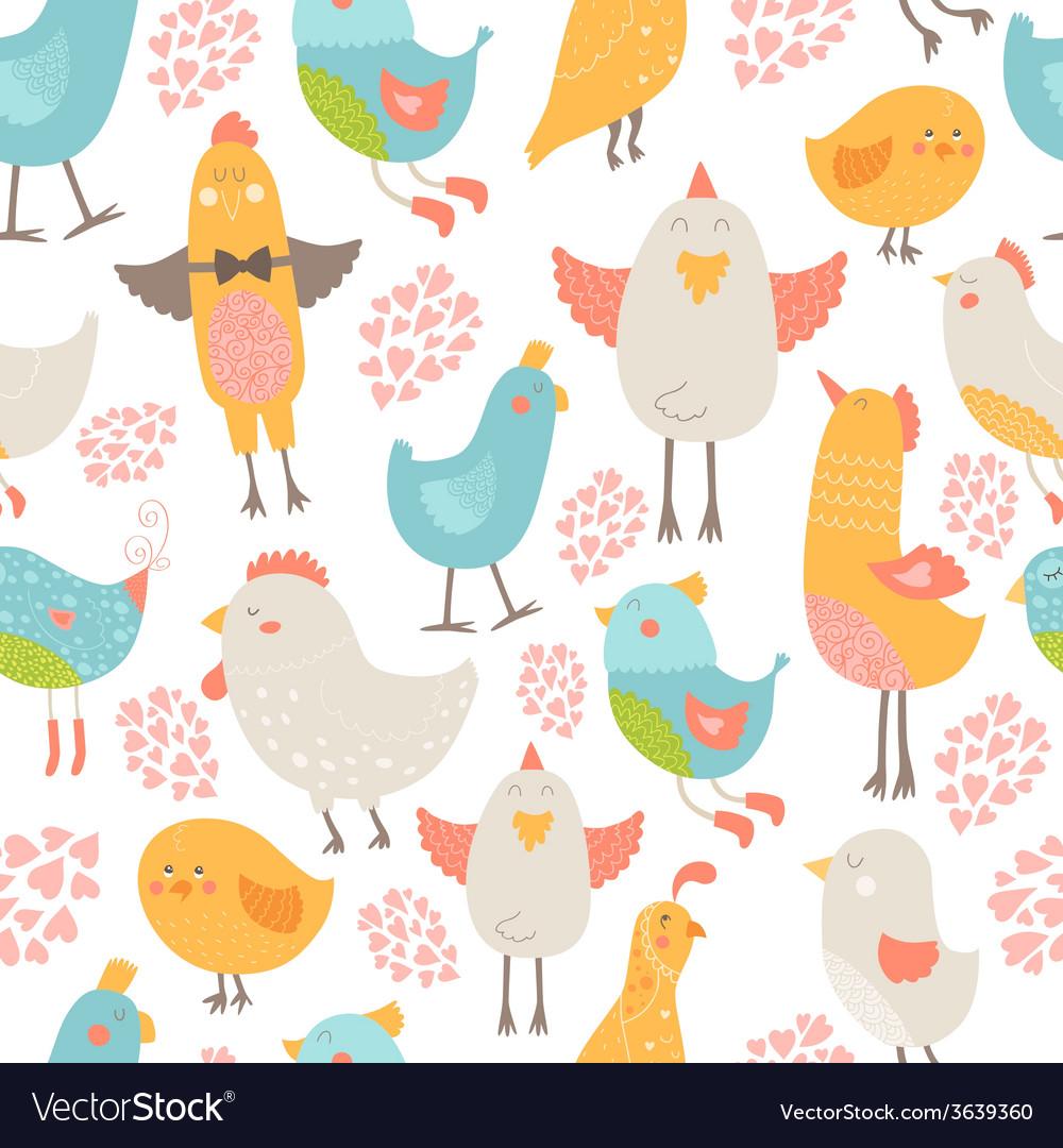 Cute birds collection vector | Price: 1 Credit (USD $1)