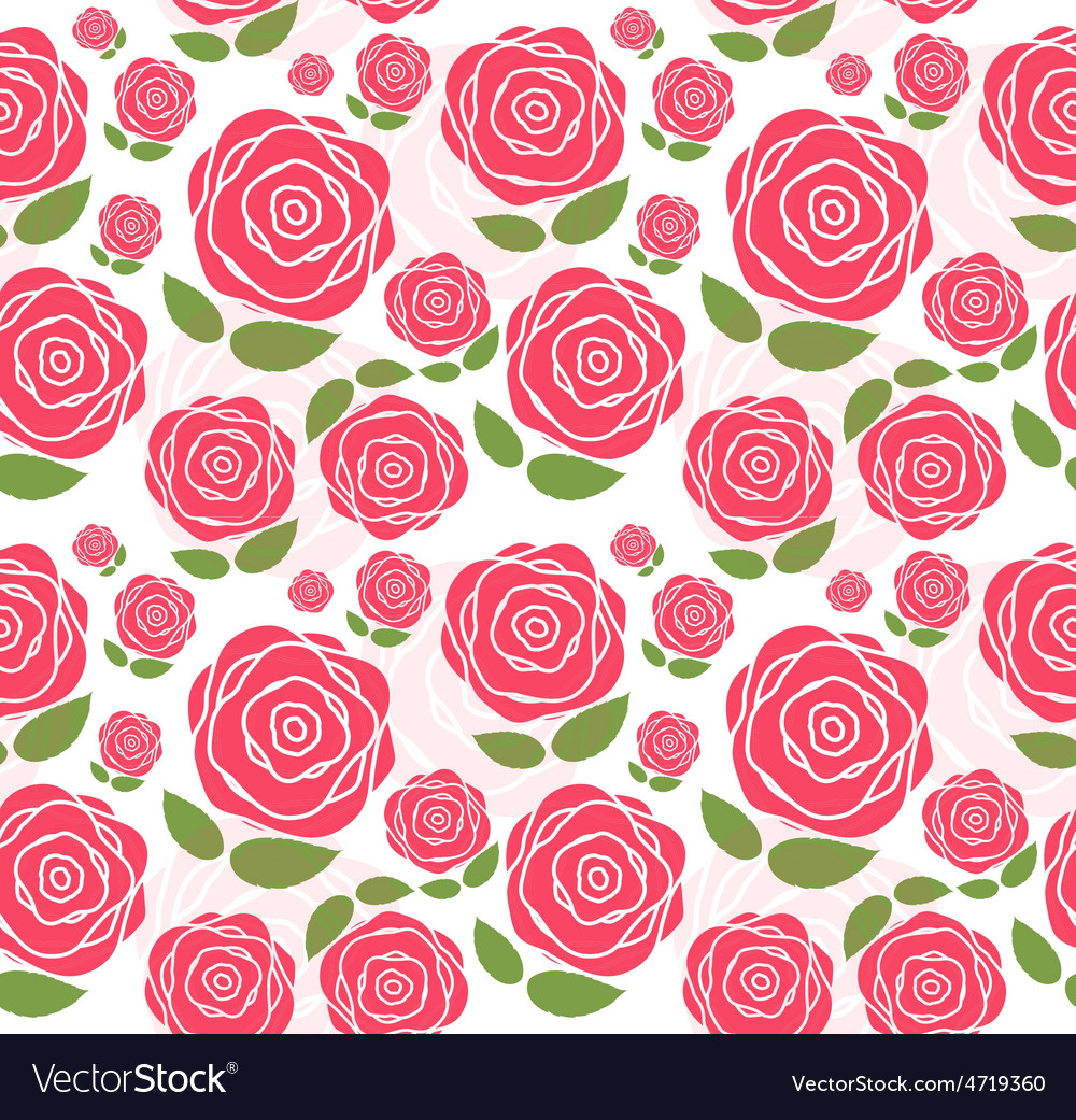 Floral seamless pattern background for wedding and vector | Price: 1 Credit (USD $1)