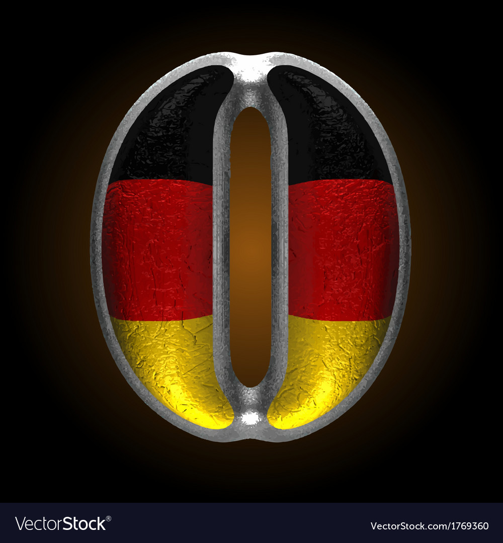 Germany metal figure 0 vector | Price: 1 Credit (USD $1)