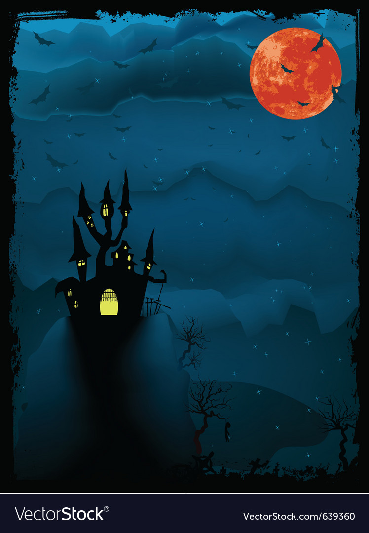 Halloween spooky time vector | Price: 1 Credit (USD $1)