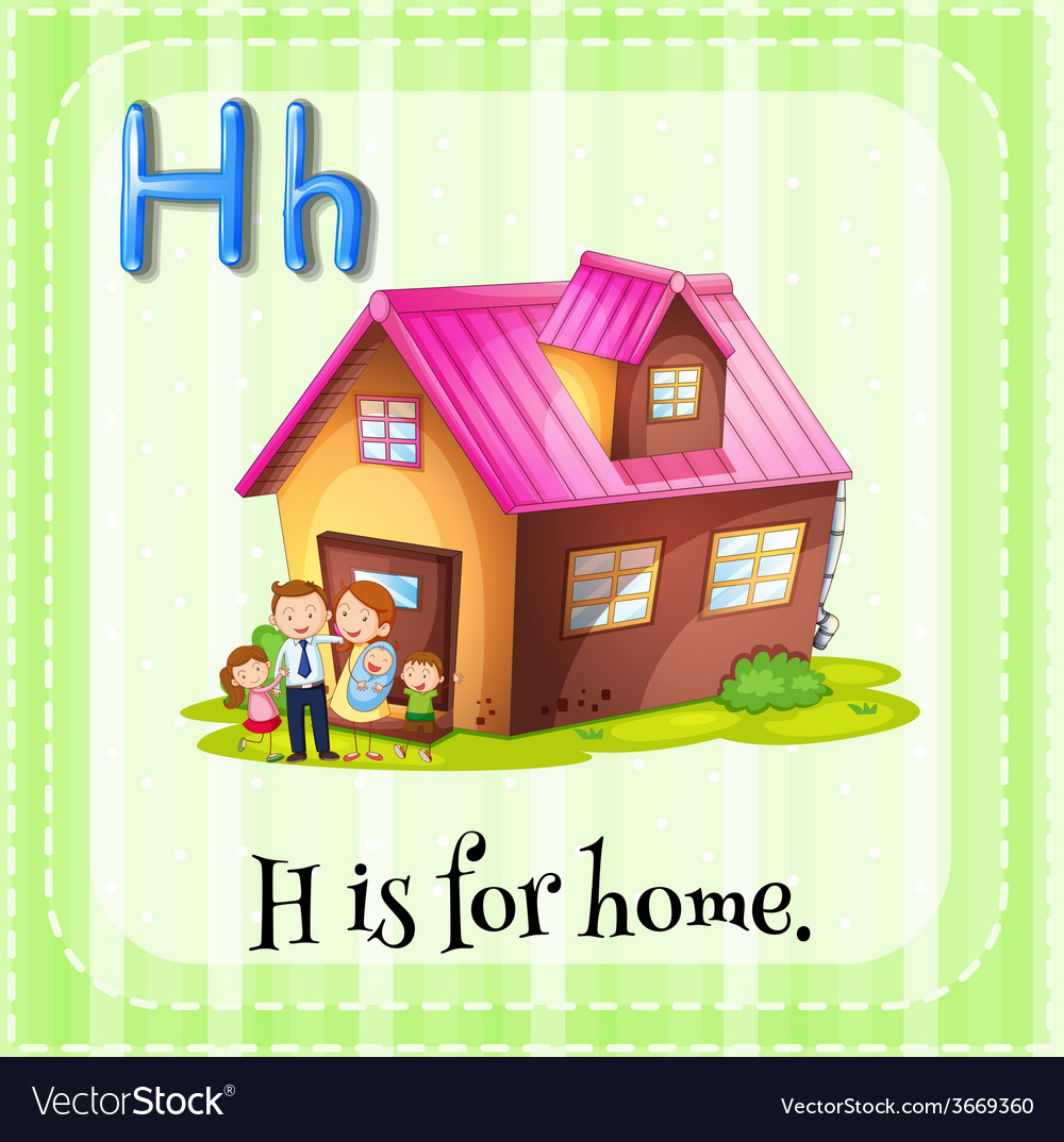 Letter h vector   Price: 1 Credit (USD $1)