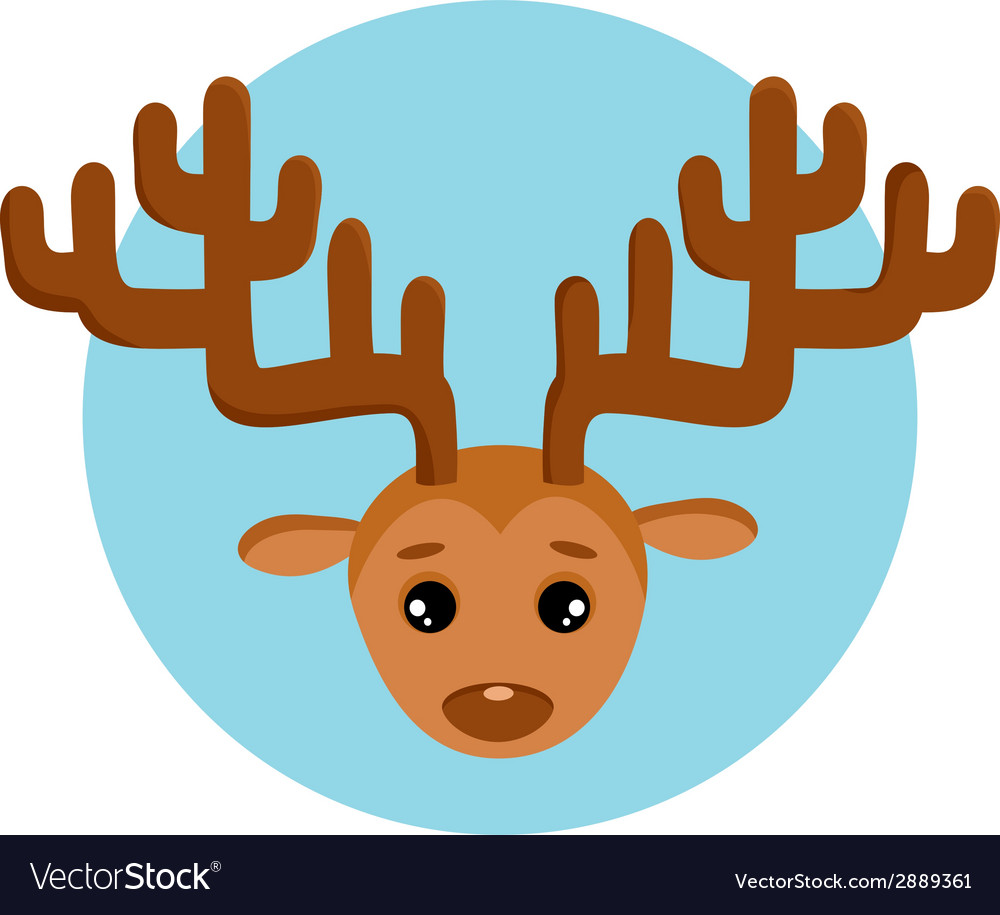 New years deer vector | Price: 1 Credit (USD $1)