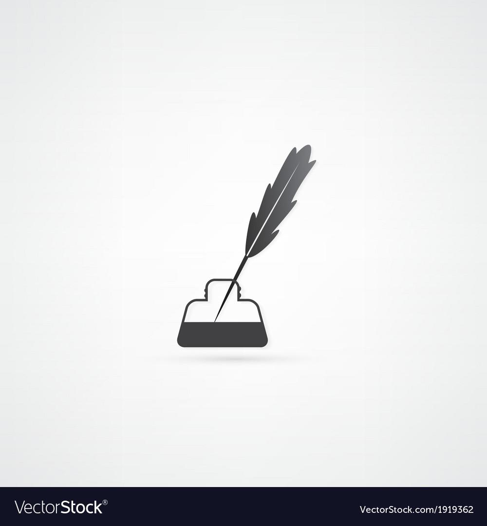 Pen icon vector | Price: 1 Credit (USD $1)