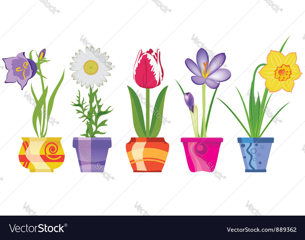 Spring flowers vector   Price: 3 Credit (USD $3)