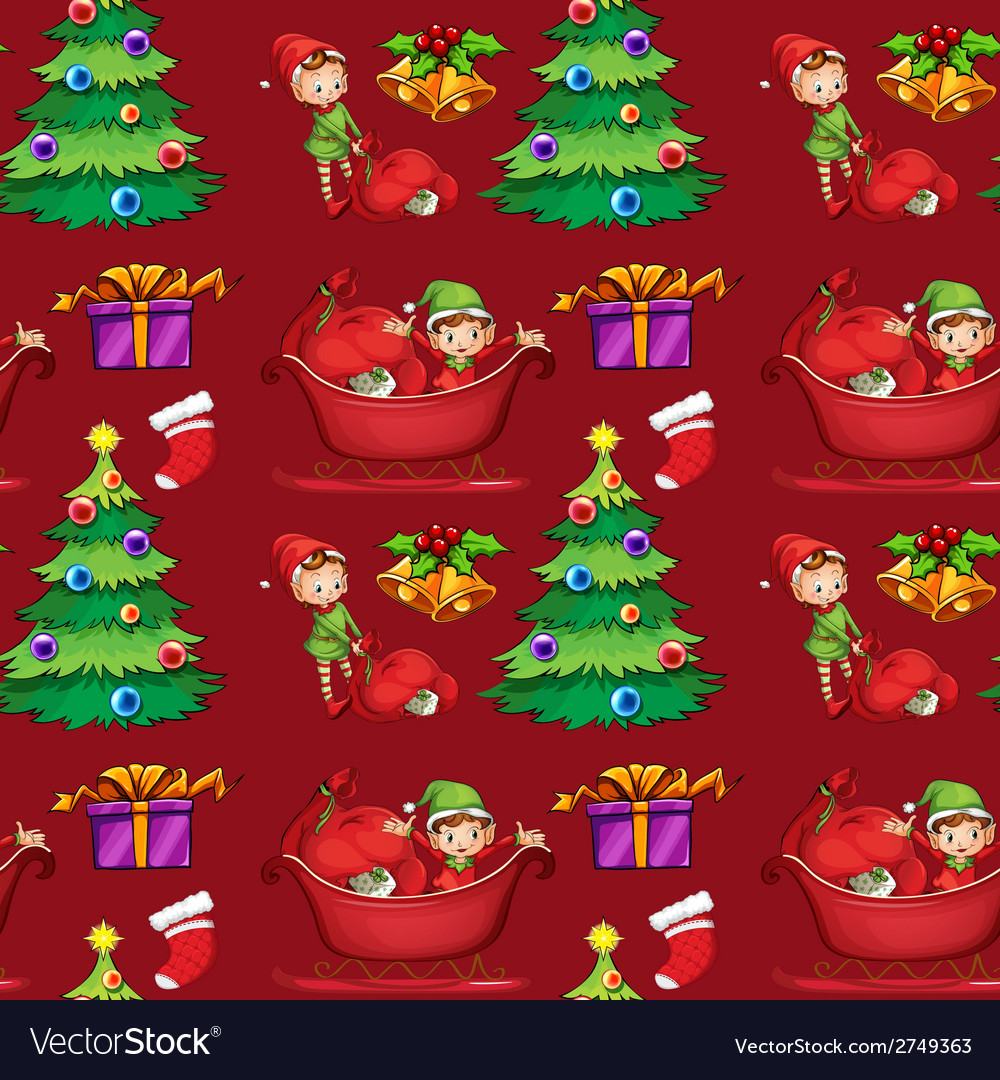 Christmas wrapping vector | Price: 1 Credit (USD $1)