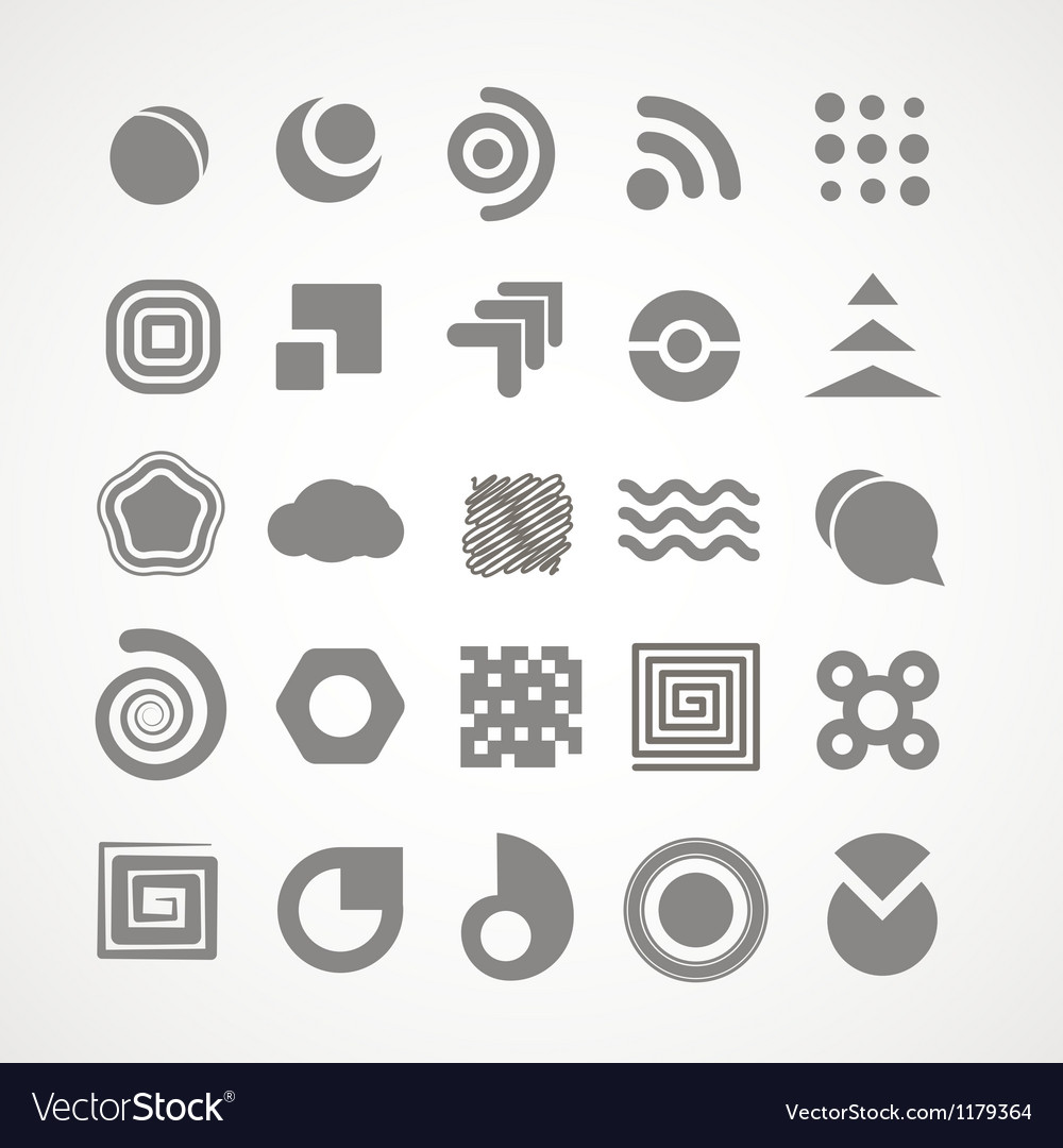 Abstract logo template vector | Price: 1 Credit (USD $1)