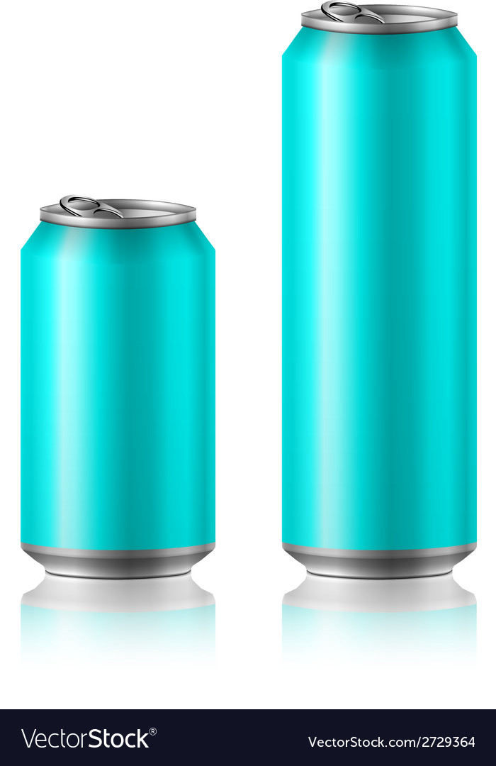 Drink foods cola beer aluminum vector | Price: 1 Credit (USD $1)
