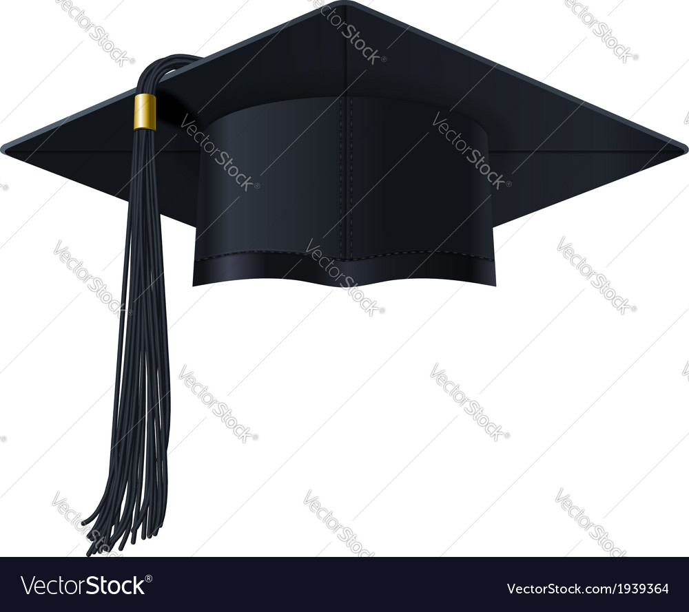 Graduate cap vector | Price: 1 Credit (USD $1)
