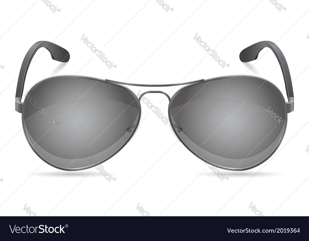 Men sunglasses vector | Price: 1 Credit (USD $1)