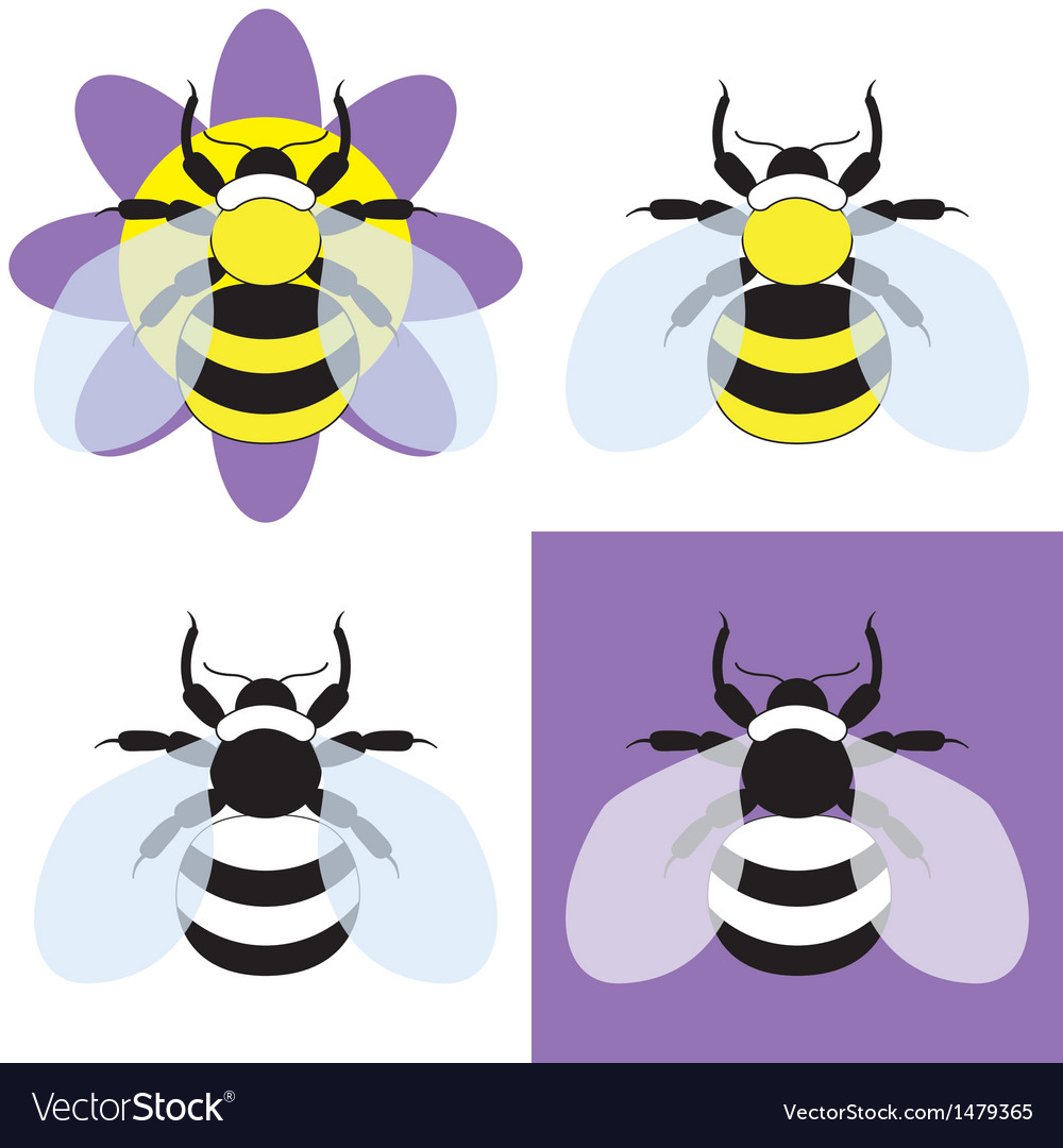 A bumble bee vector | Price: 1 Credit (USD $1)