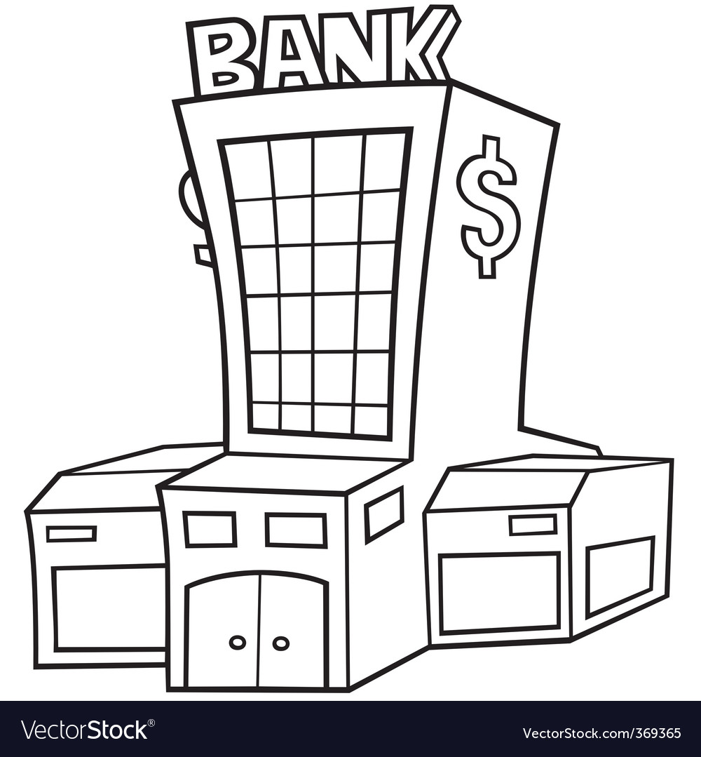 Central bank vector   Price: 1 Credit (USD $1)