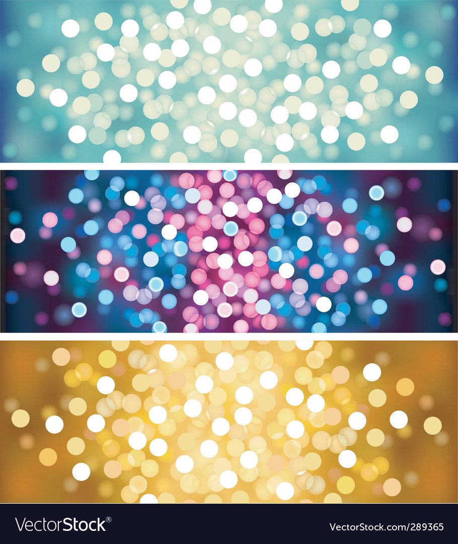 Defocused lights vector | Price: 1 Credit (USD $1)