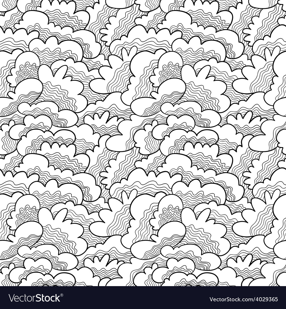Doodle seamless vector | Price: 1 Credit (USD $1)