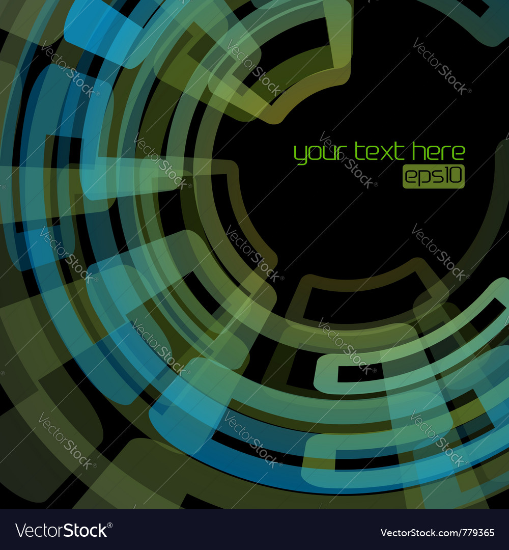 Techno abstract background vector | Price: 1 Credit (USD $1)