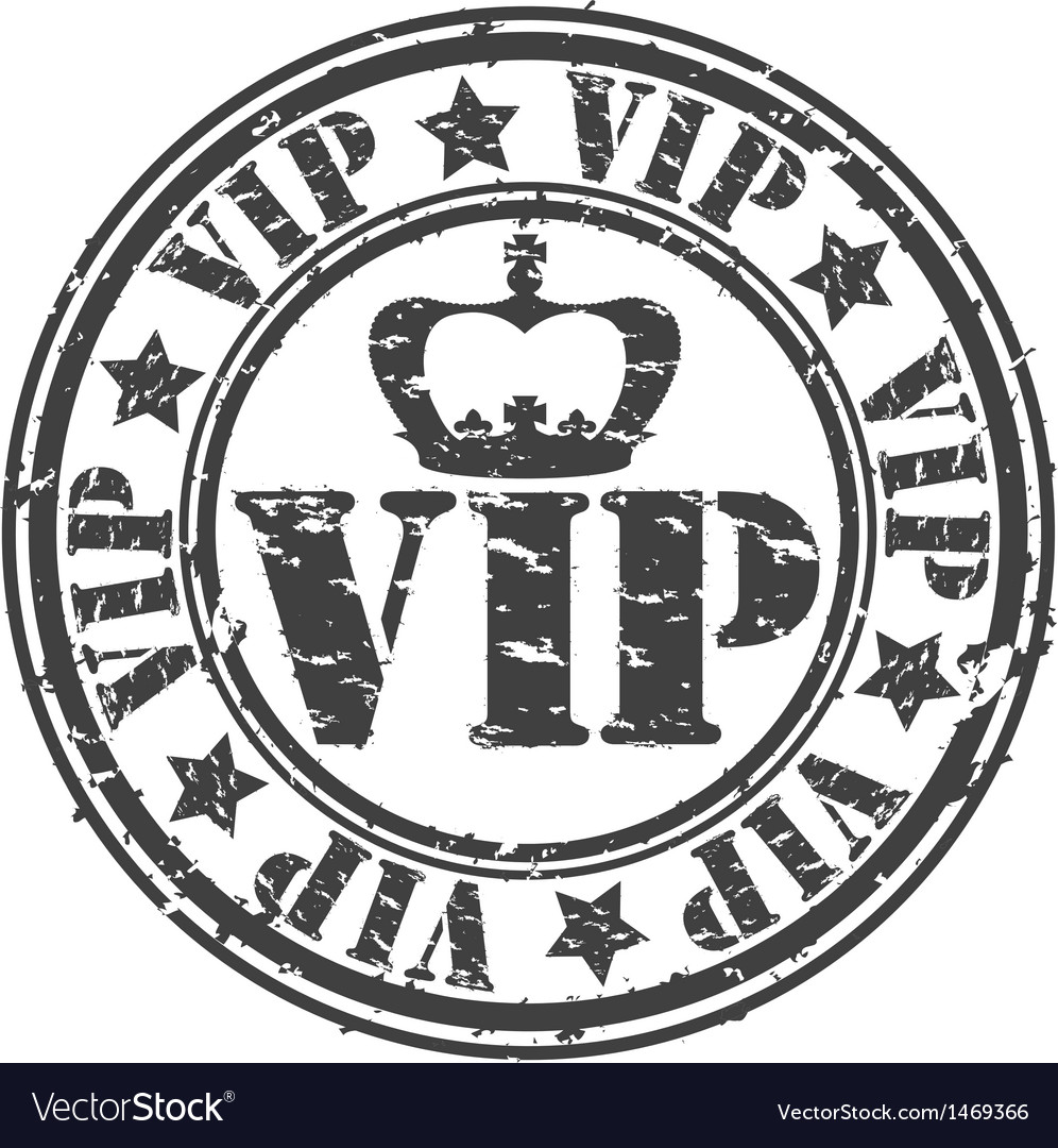 Grunge vip rubber stamp vector | Price: 1 Credit (USD $1)