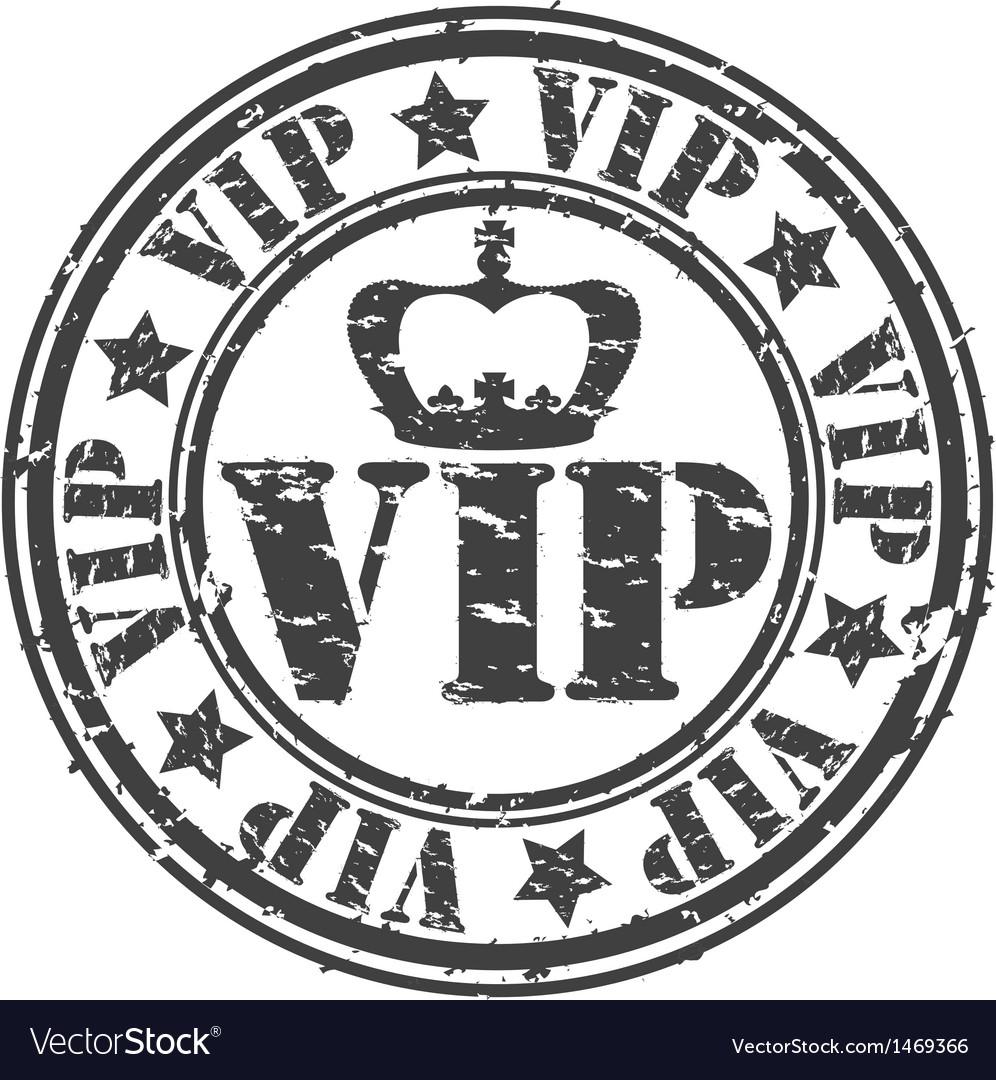Grunge vip rubber stamp vector   Price: 1 Credit (USD $1)