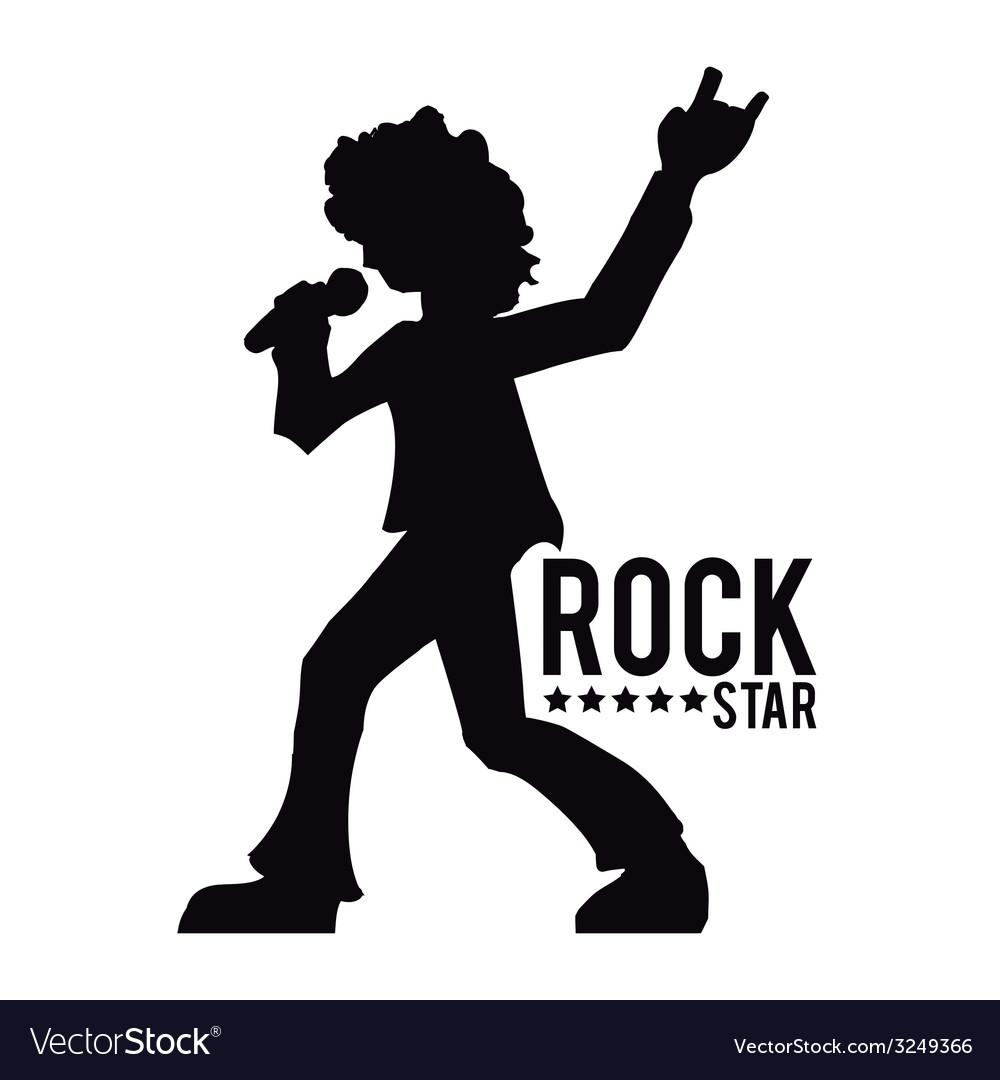 Hard rock design vector | Price: 1 Credit (USD $1)