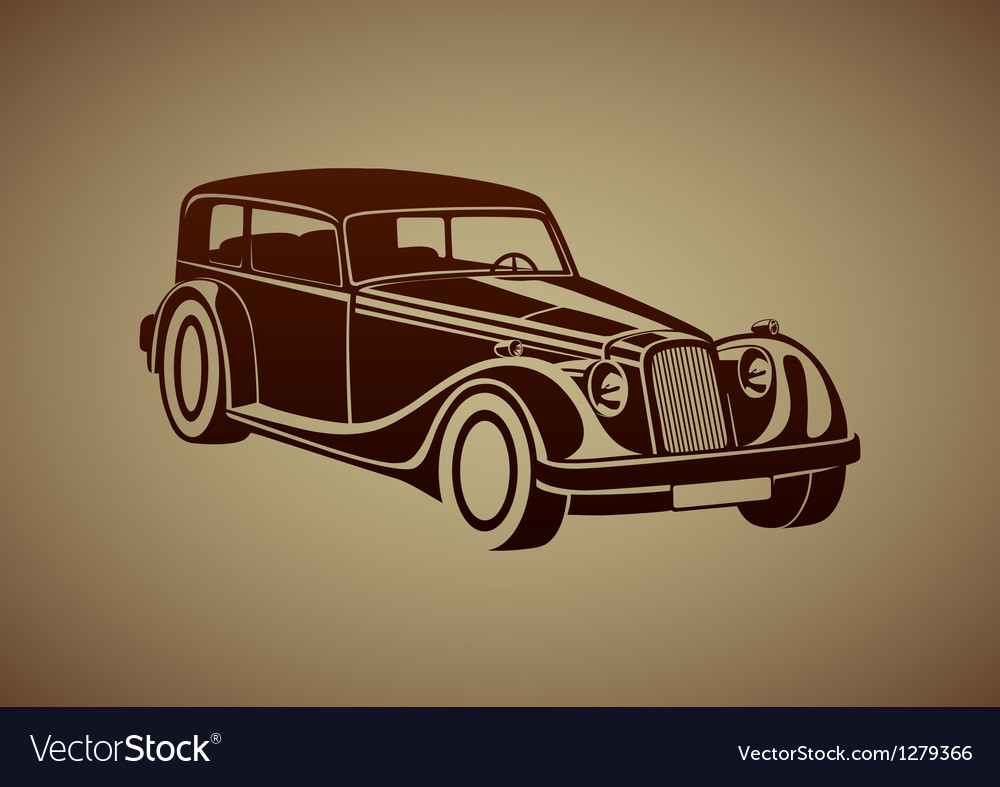 Sport classic automobile vector | Price: 1 Credit (USD $1)