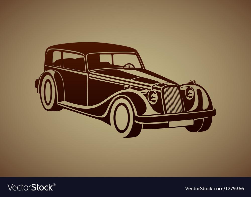 Sport classic automobile vector | Price: 1 Credit (USD $1)